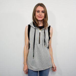 ALALA Half-Zip Fleece Pullover Hoodie Vest